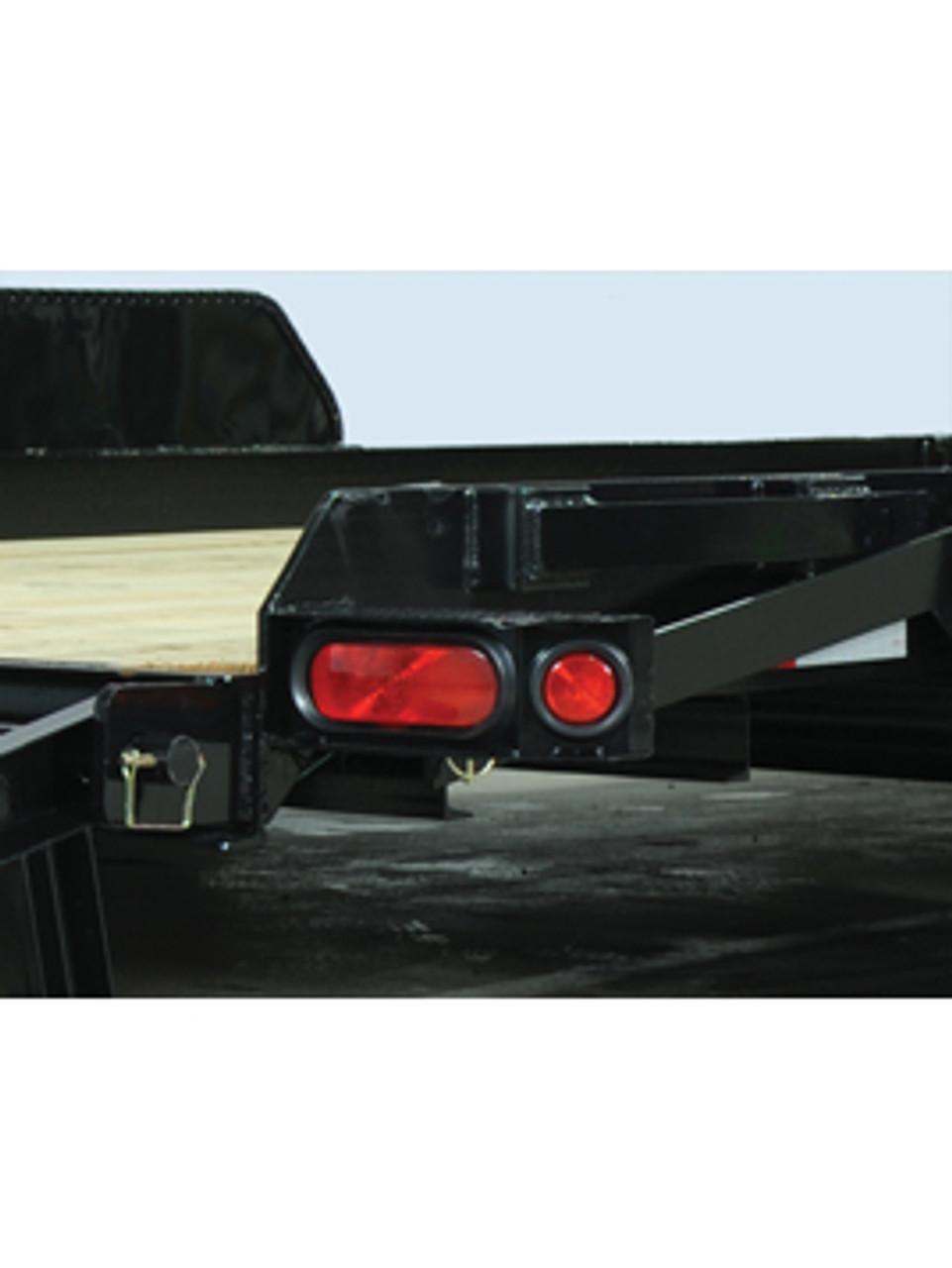 "STSK8020TA5 --- 79"" x 20' Low Profile Skid Steer Trailer"