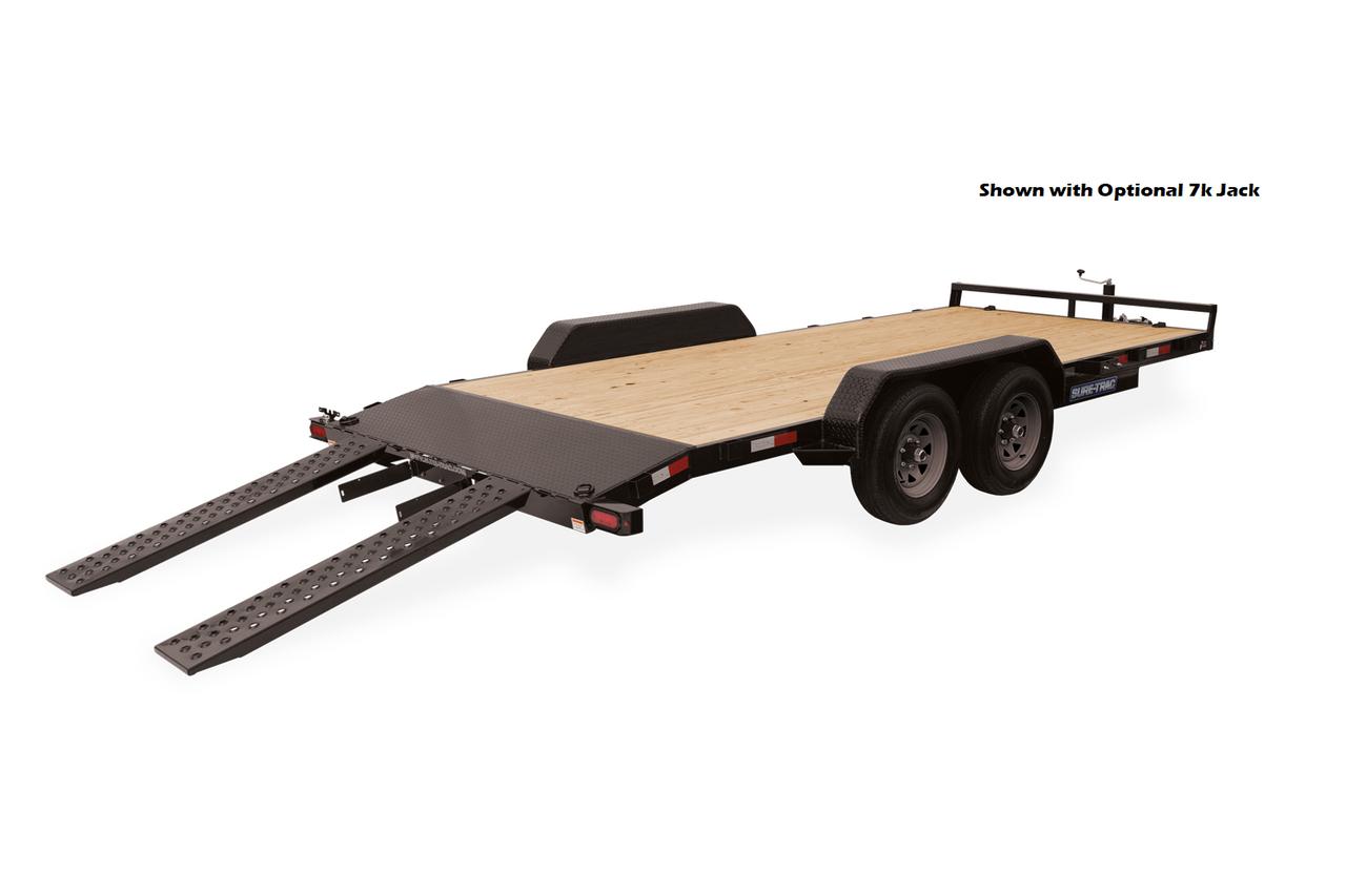 "STCH8218 --- 82"" x 18' Beavertail Car Hauler"