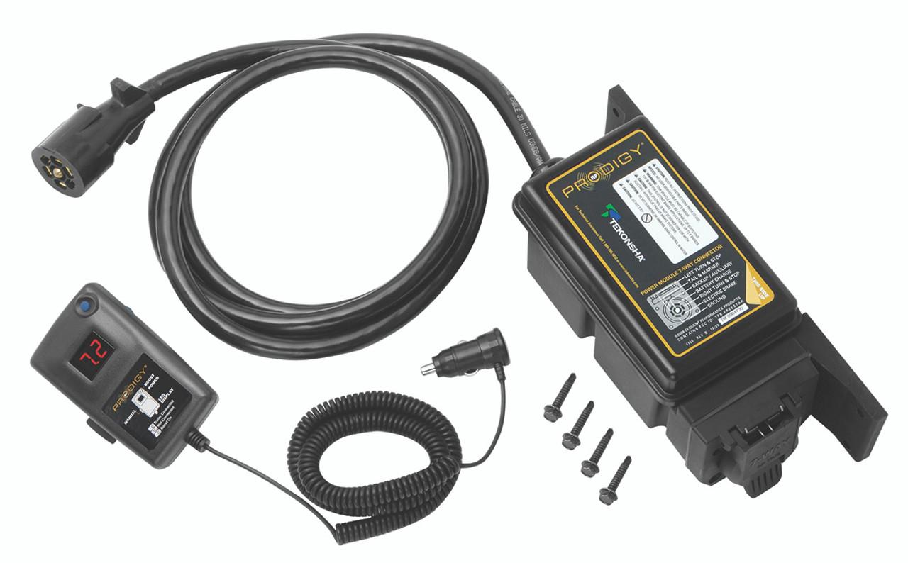 902502 --- Tekonsha Prodigy RF with Bluetooth Trailer Mounted Electronic Brake Controller