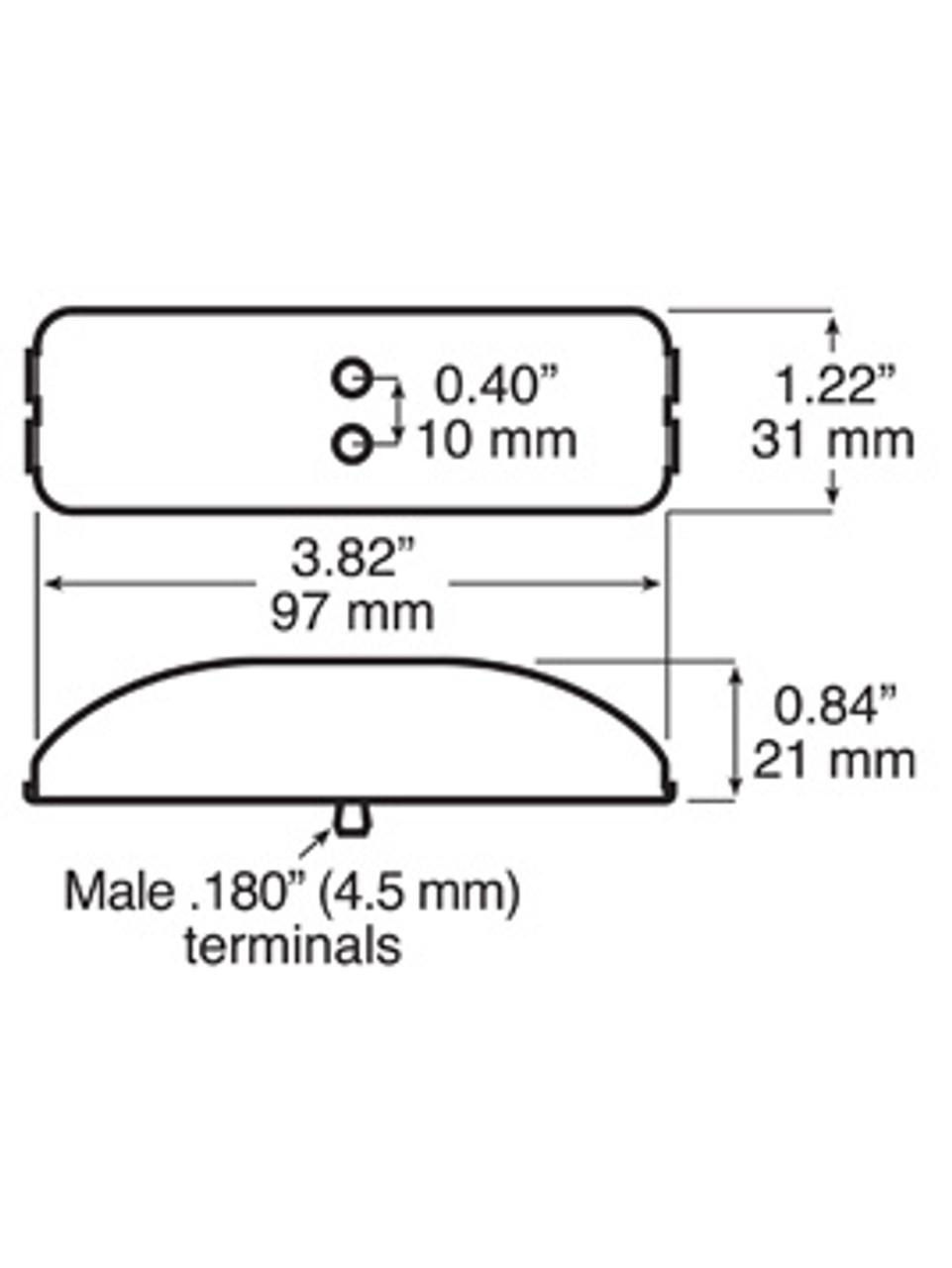 LED154KA-R --- LED Combinational Marker Light Kit