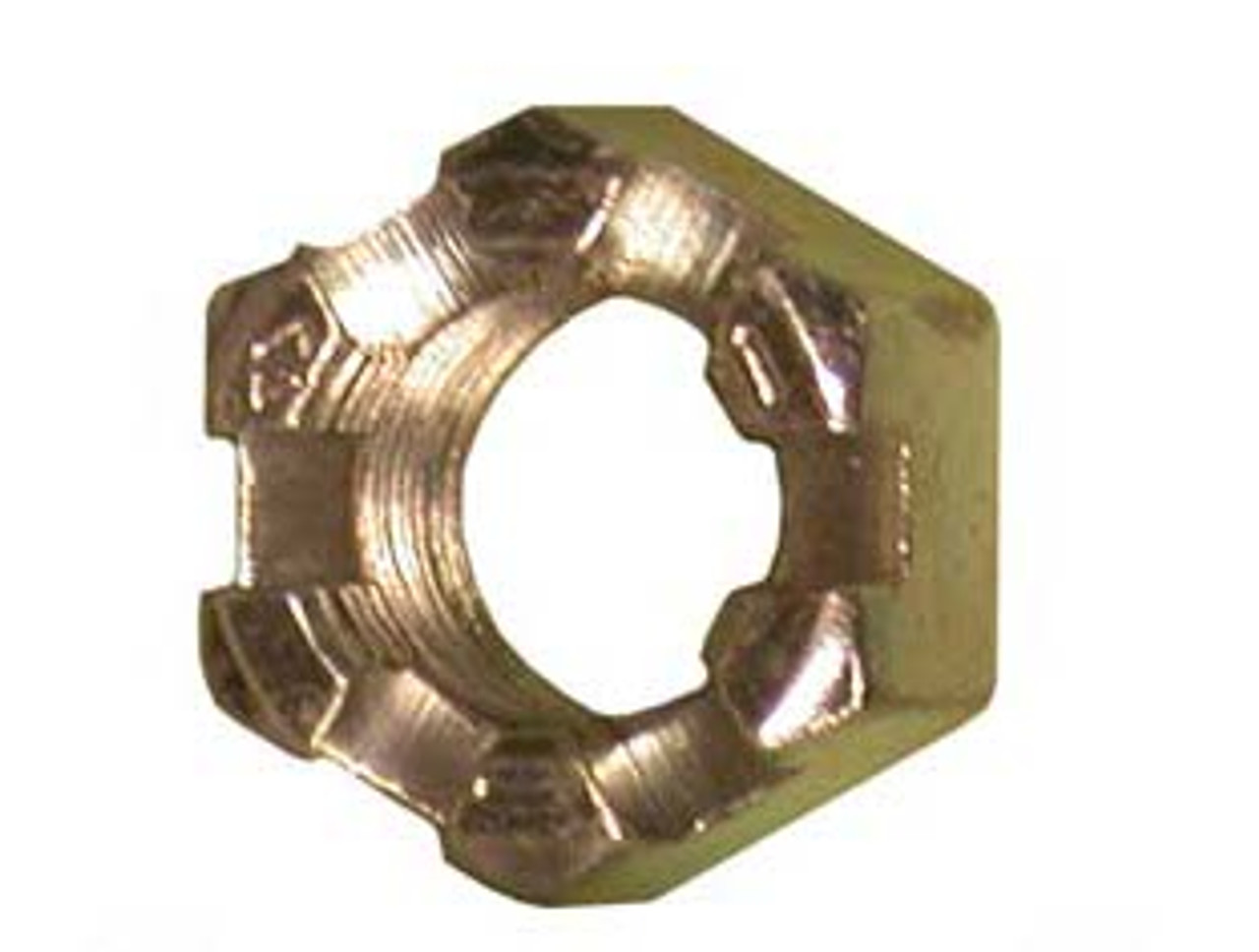 HSN58 --- Model 20 Slotted Hex Nut