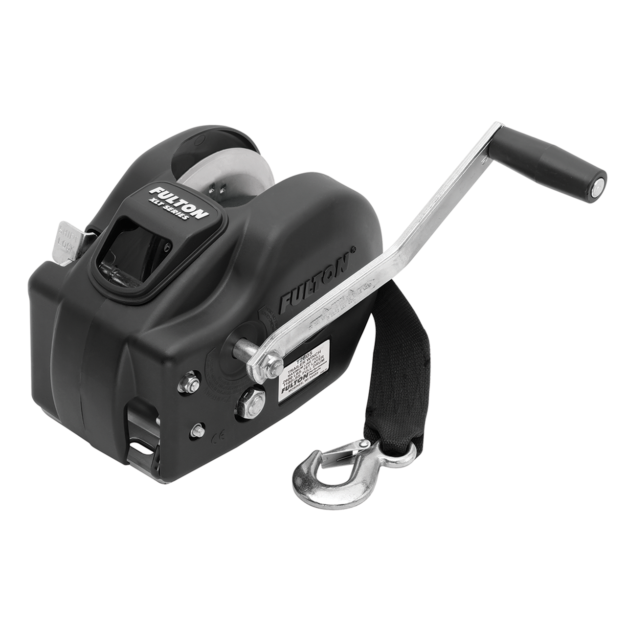142418 --- Fulton Two Speed Trailer Winch - 2,600 lb Capacity