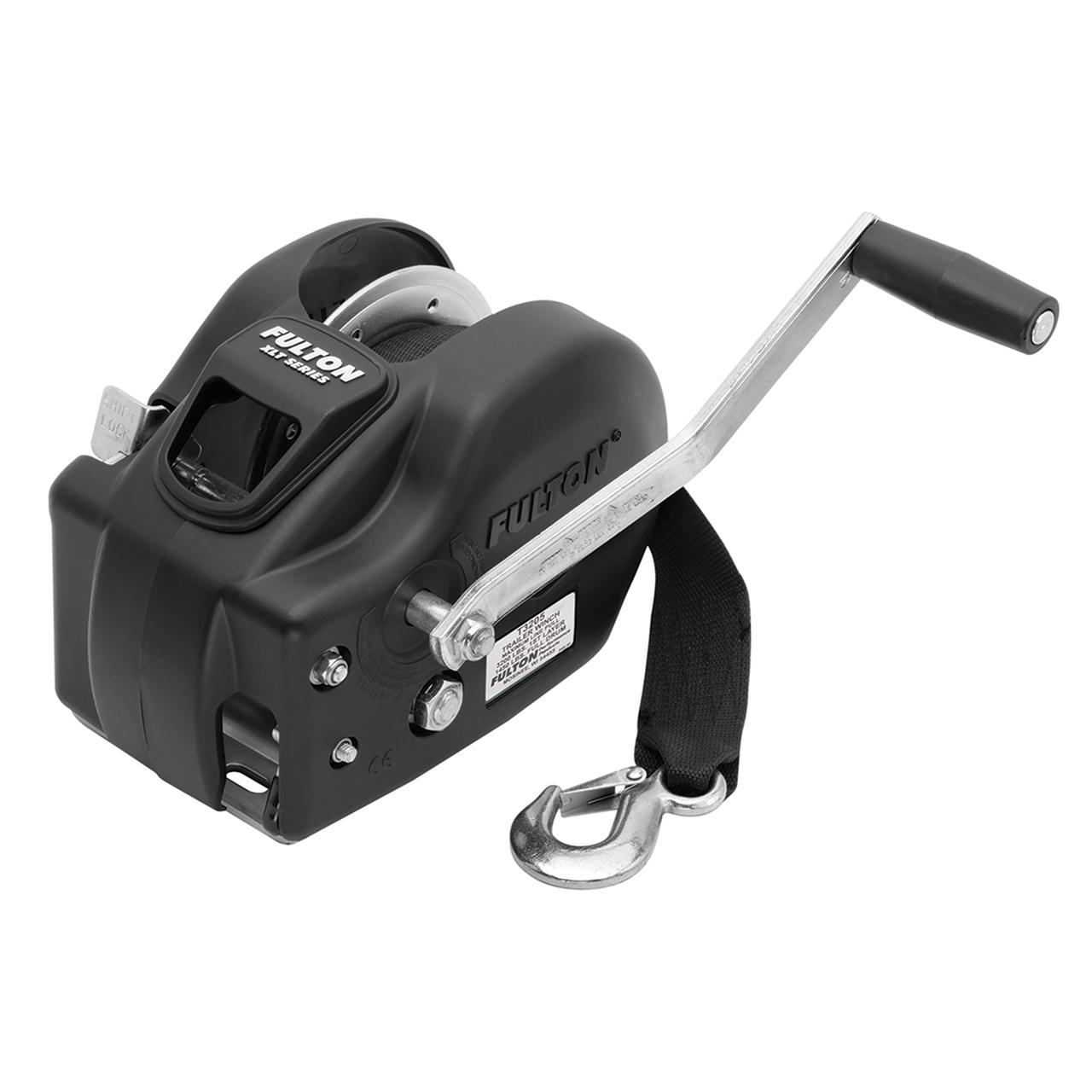 New Fulton F2 Trailer Winch 3,200 lbs 2-Speed w//Strap