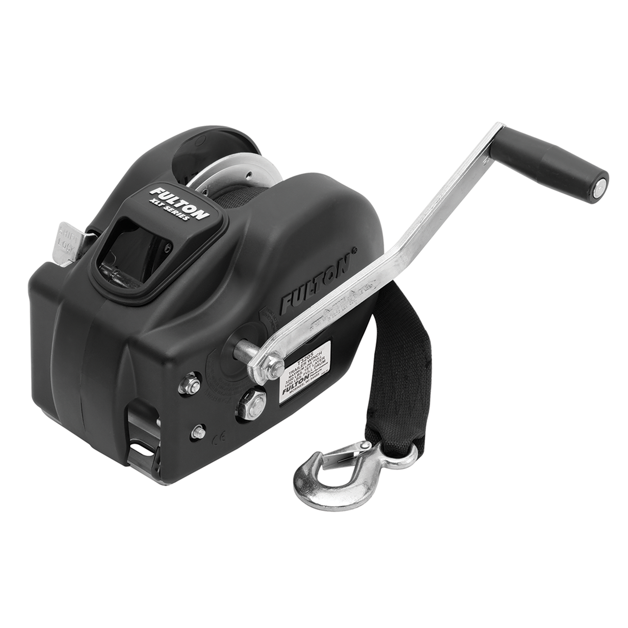 142425 --- Fulton Two Speed Trailer Winch - 3,200 lb Capacity