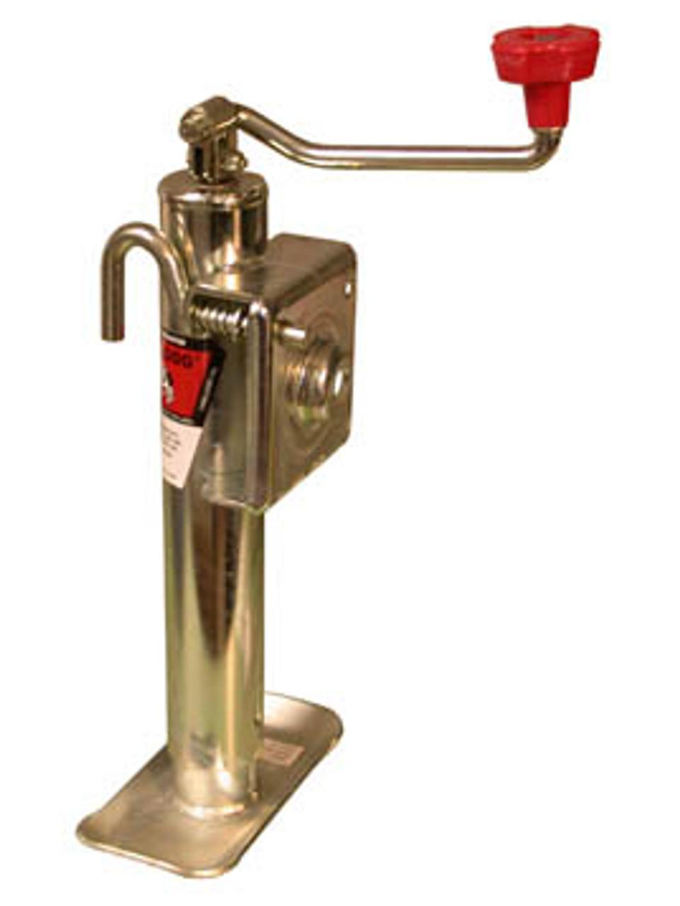 154107 --- BULLDOG Swivel Topwind Trailer Jack - 2,000 lb