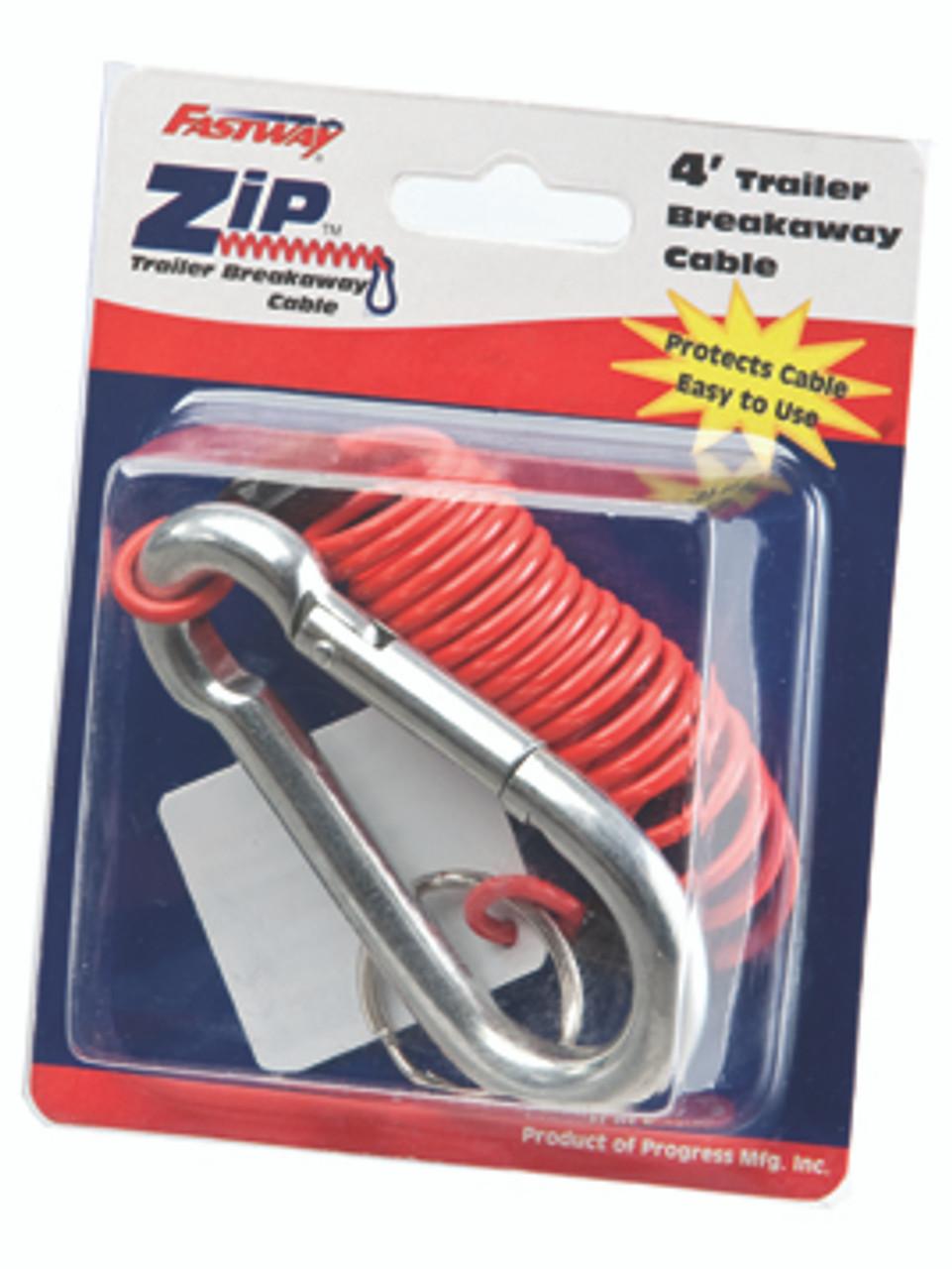 Z2140 --- Fastway  Zip  Breakaway Cable - 4'