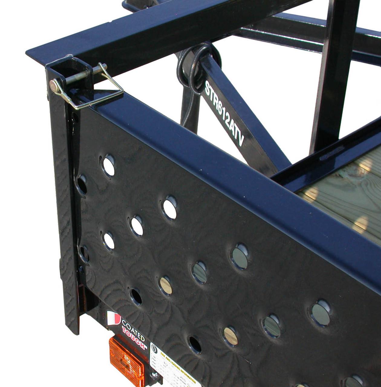 STR712GT-ATV --- 7' x 12' ATV Trailer with ATV Ramps