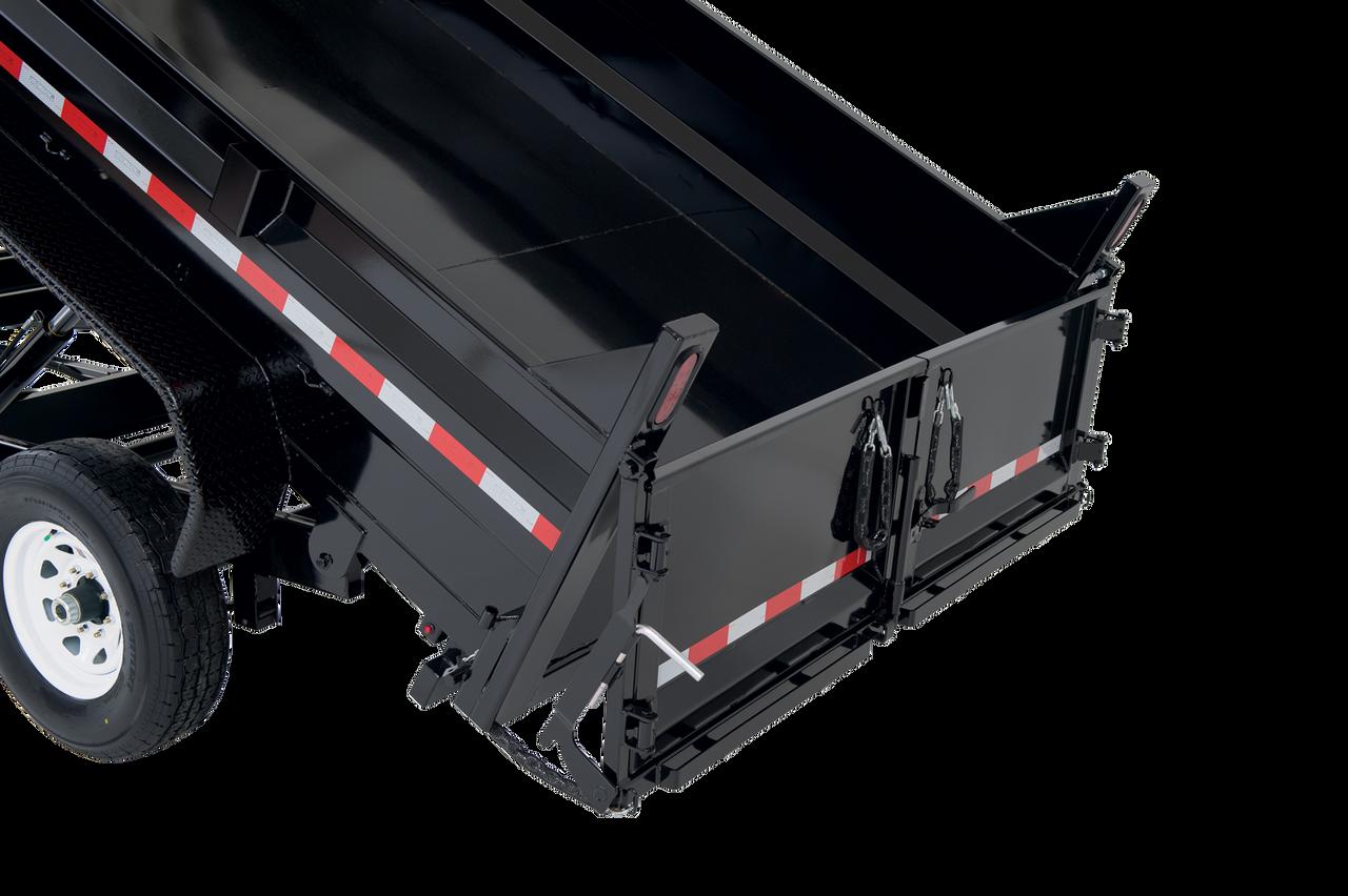 "STD7210TA3 --- 72"" x 10' Dump Trailer - 10k"