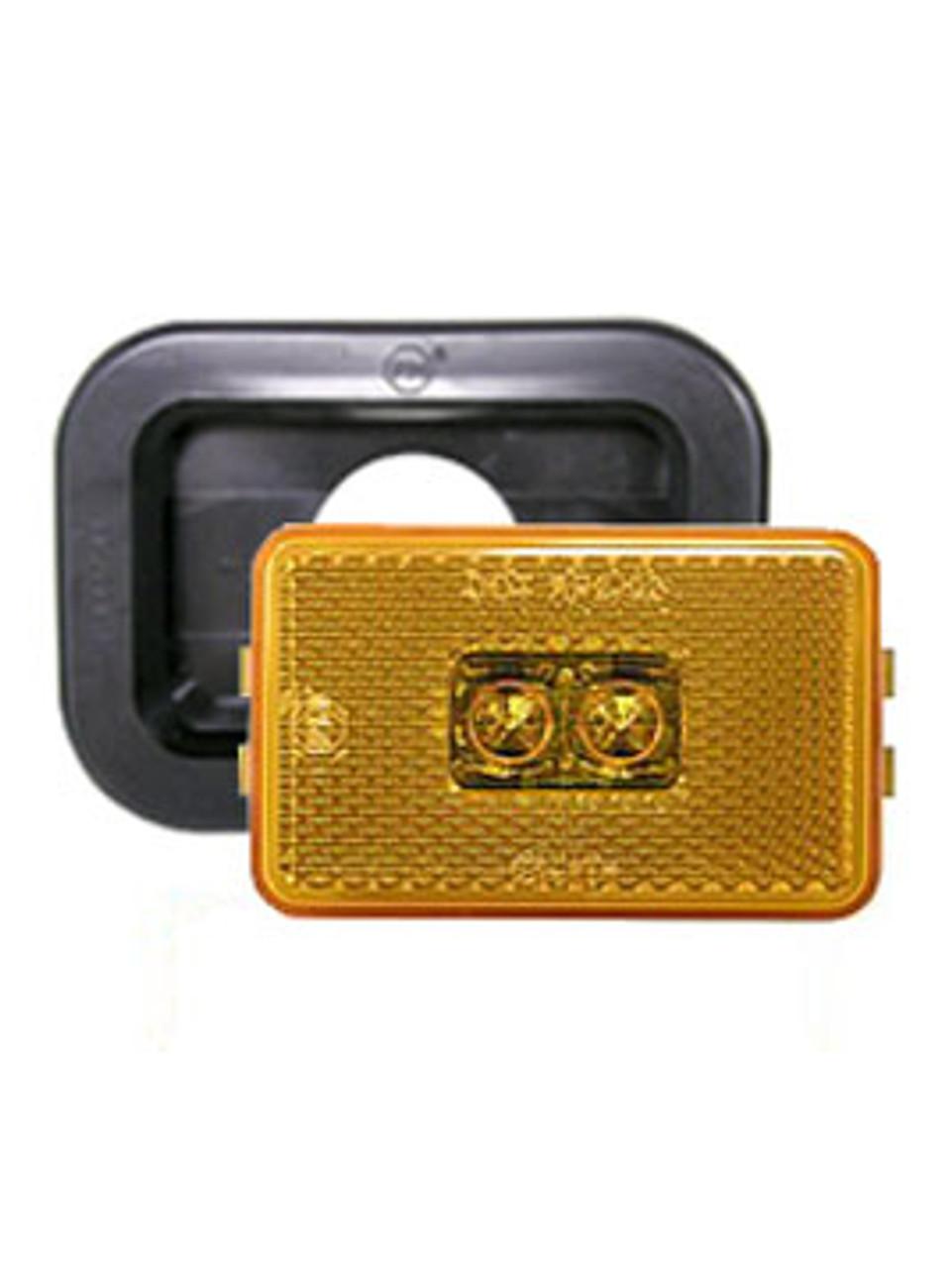 LED129KA2 --- LED Rectangular Sealed Clearance/Side Marker Light Kit - Amber