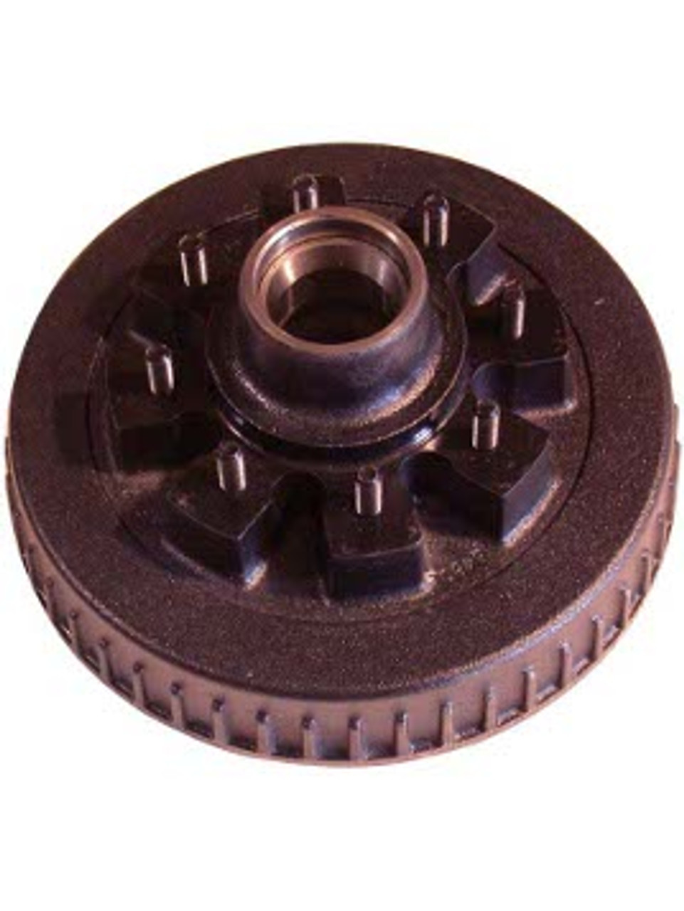 """86542HD916 --- 8 on 6-1/2"""" Hub and Drum Only - 9/16"""" Studs - 7,000 lb"""
