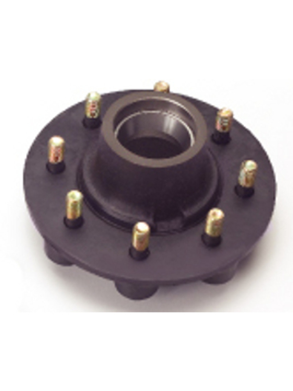 """8-287-07 --- Grease Hub only with Races & 5/8"""" Studs - 8,000 lb"""