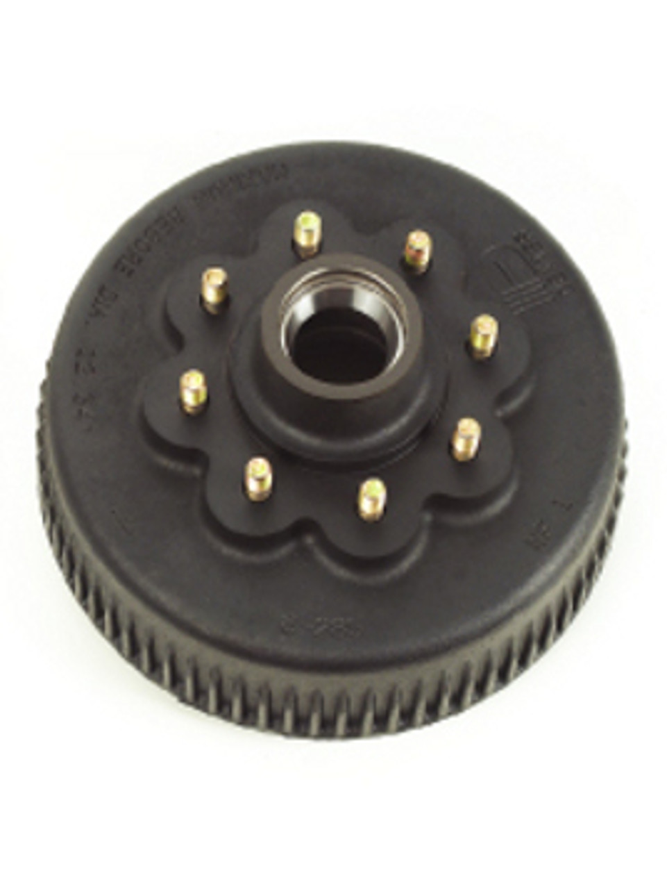 """8-285-11 --- Grease Hub & Drum only with Races & 9/16"""" Studs - 8,000 lb"""