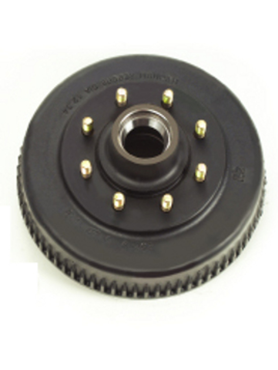 """8-393-4 --- Grease Hub & Drum only with Races & 9/16"""" Studs - 7,200 lb"""