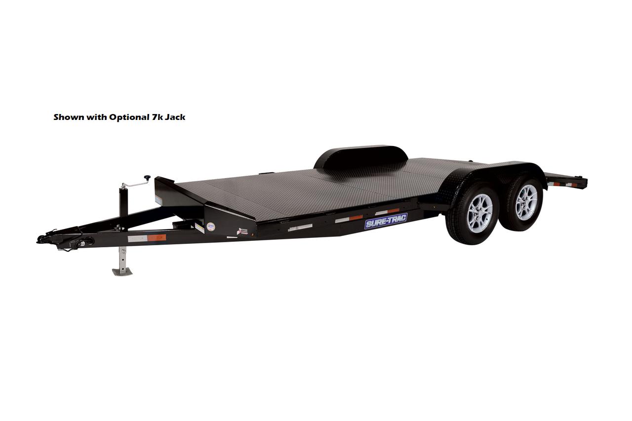 "STCH8218SD --- 82"" x 18' Steel Deck Car Hauler"