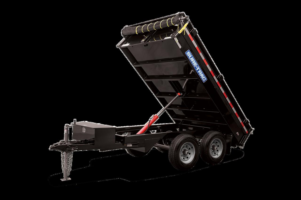 "STD7210TA2 --- 72"" x 10' Dump Trailer - 7k"