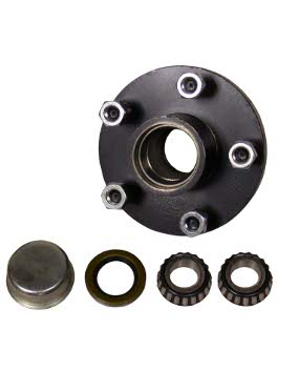 "1-BT5-49 --- 5 on 4-1/2"" Hub Assembly - 2,000 lb"