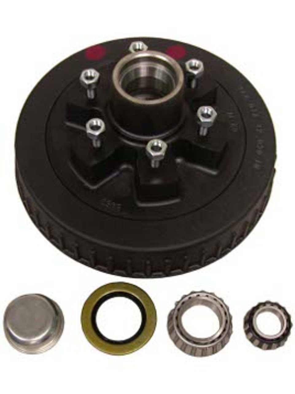 """1-42655HD --- 6 on 5-1/2"""" Hub and Drum Assembly - 6,000 lb"""