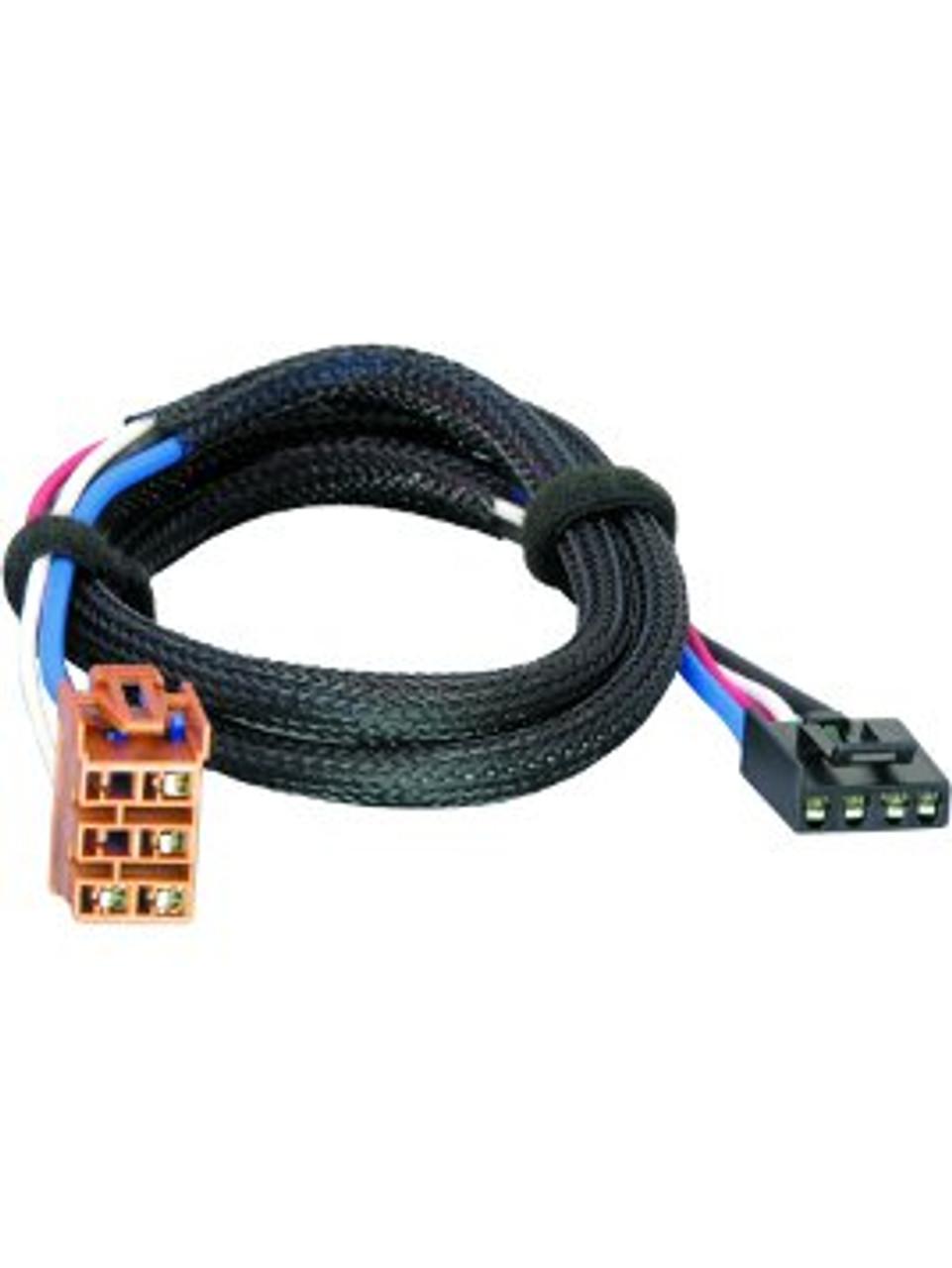 3025 --- Tekonsha & Draw-Tite Brake Control Dual Plug Wiring Harness