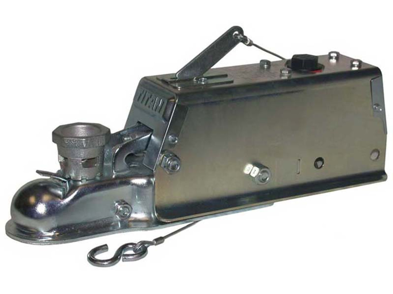 """40960 --- Model 60 Hydraulic Brake Actuator with 1-7/8"""" and 2"""" Coupler - 6,000 lb Capacity"""
