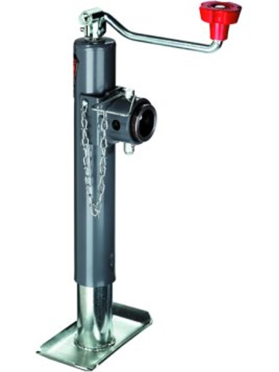 158451 --- BULLDOG Swivel Topwind Trailer Jack - 2000 lb