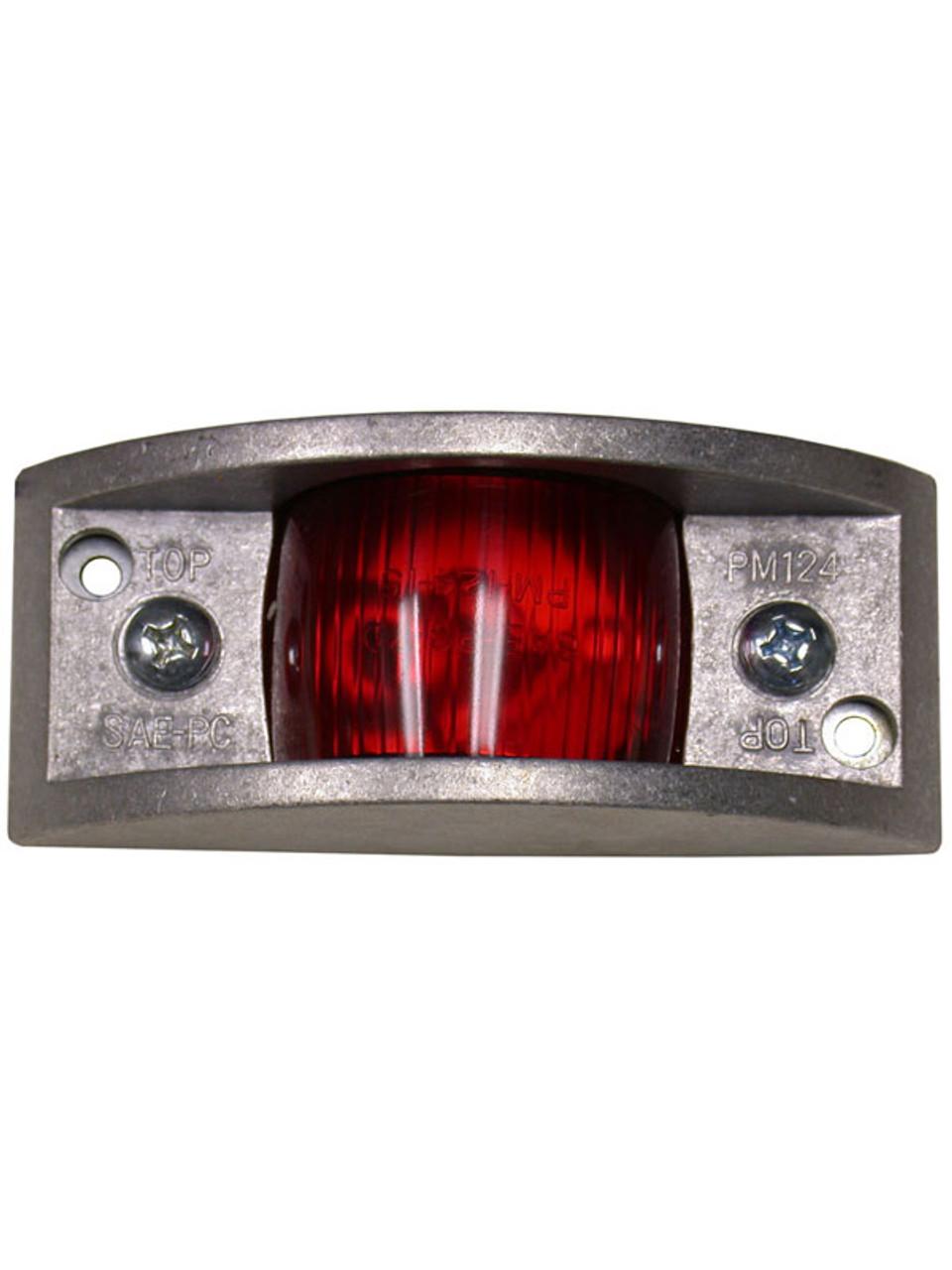 124R --- Rectangular Clearance/Side Marker Light