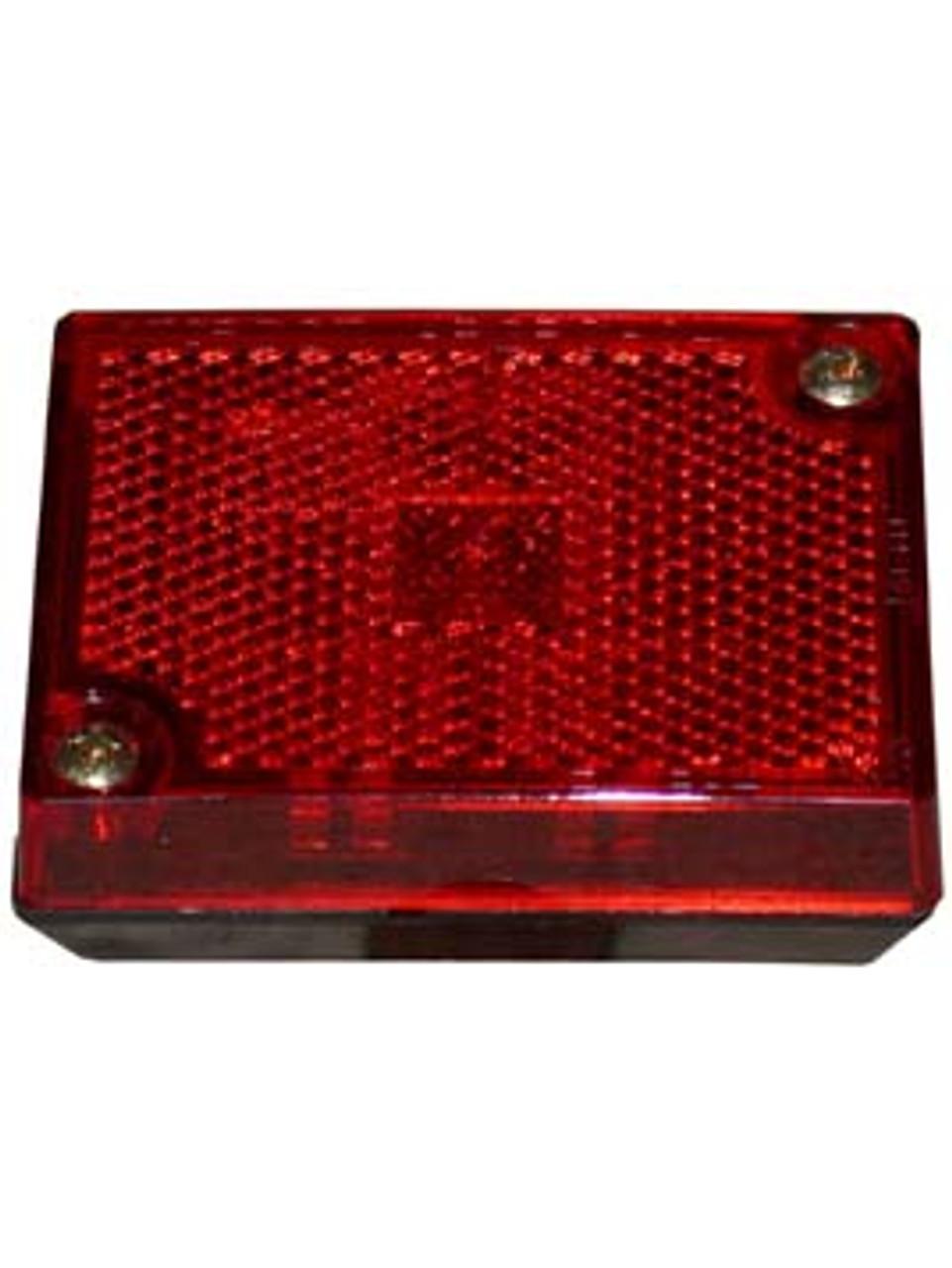 114R --- Rectangular Clearance/Side Marker Light with Reflex