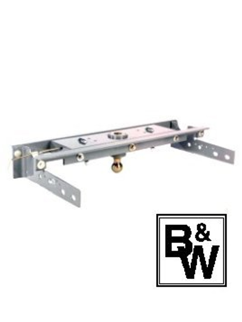 BW1007 --- B&W 30K Underbed Turnover Gooseneck Trailer Hitch - Chevy/GMC
