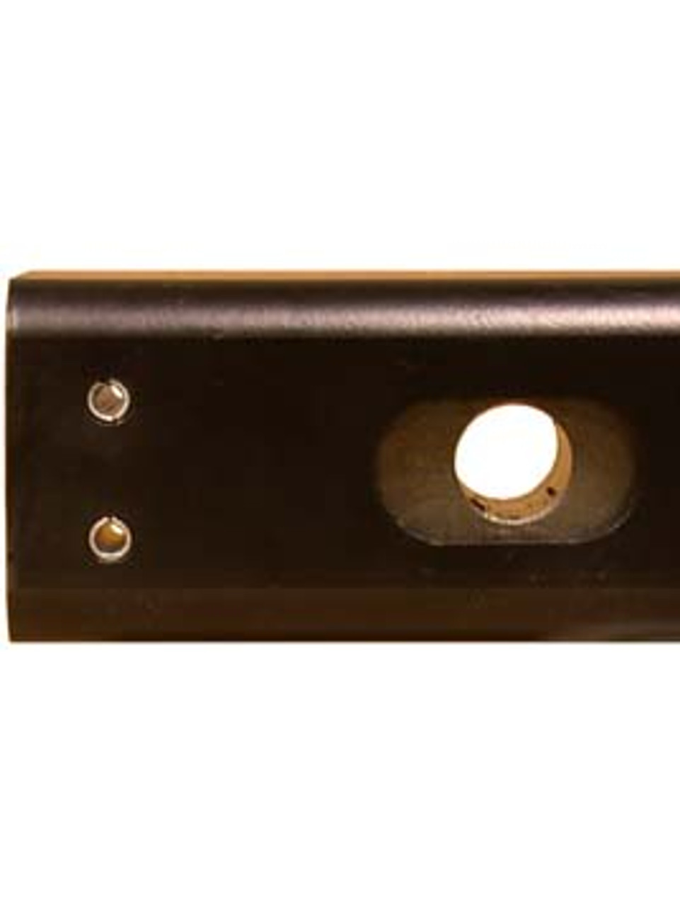 """C4330 --- Cushioned 2"""" Receiver Mounted Pintle Hook Adapter - 4 Holes - 10,000 lb Capacity"""