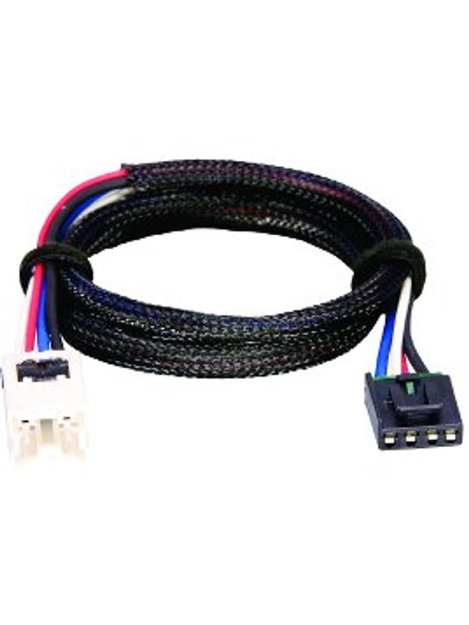 3050 --- Tekonsha & Draw-Tite Brake Control Dual Plug Wiring Harness