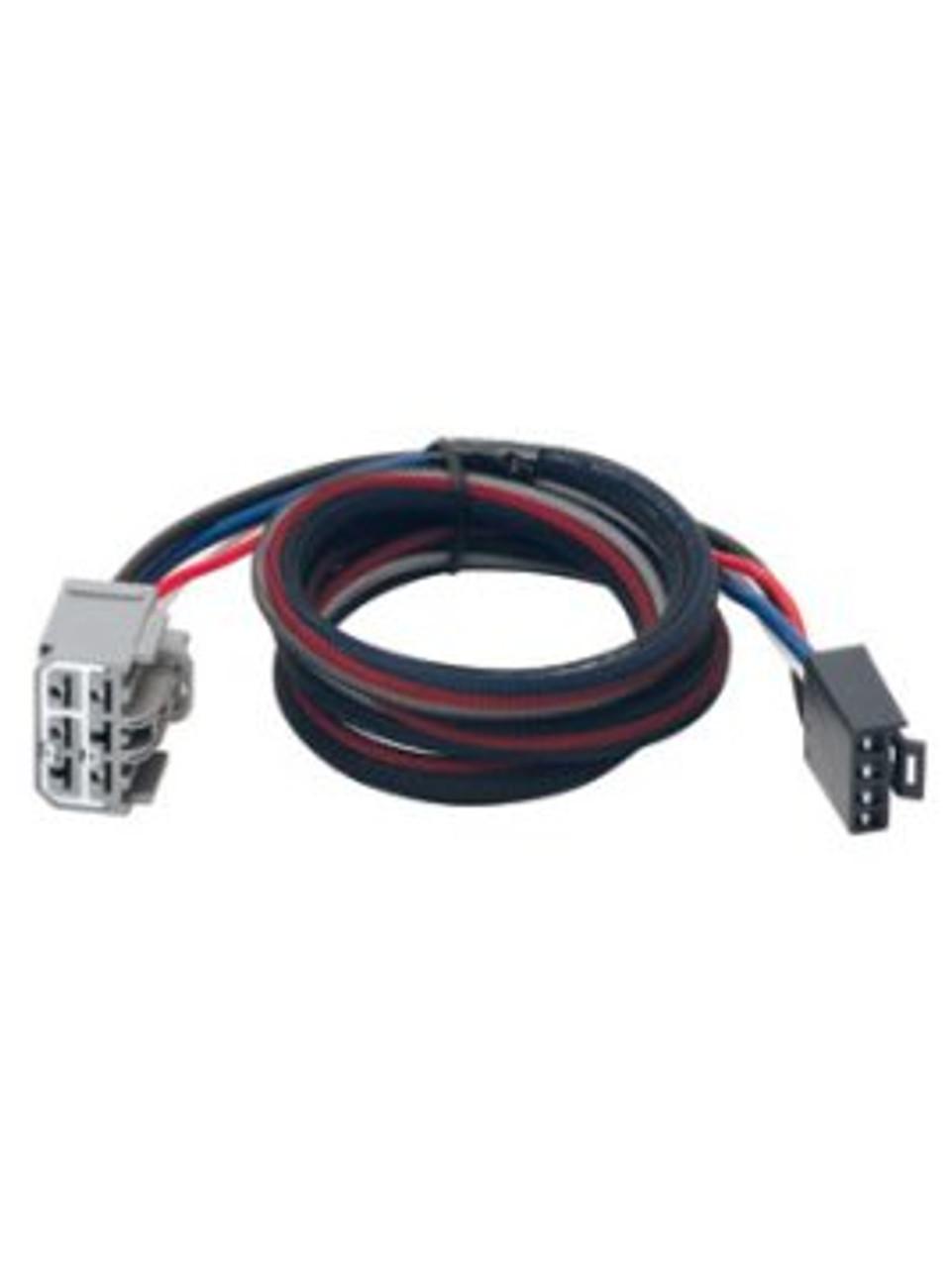 3026 --- Tekonsha & Draw-Tite Brake Control Dual Plug Wiring Harness