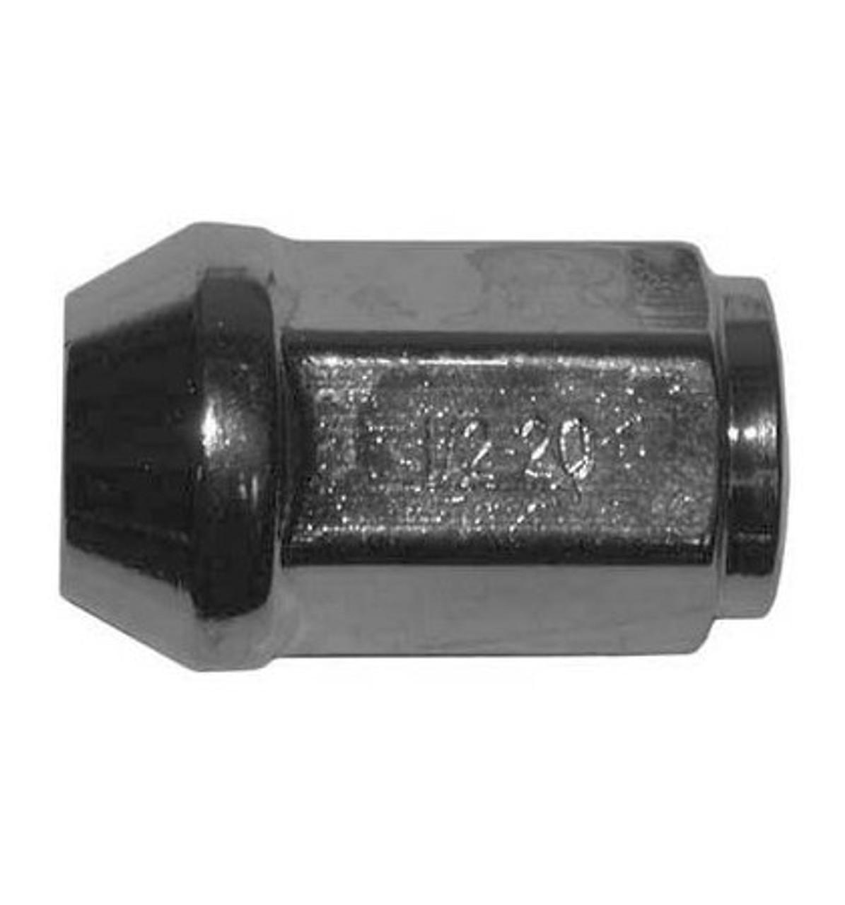 "12CLN --- Wheel Nut 1/2"" - 20 Right Hand"