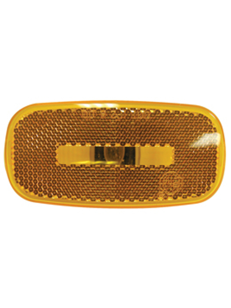 2549-15A --- Rectangular Clearance/Side Marker Lens with Reflector