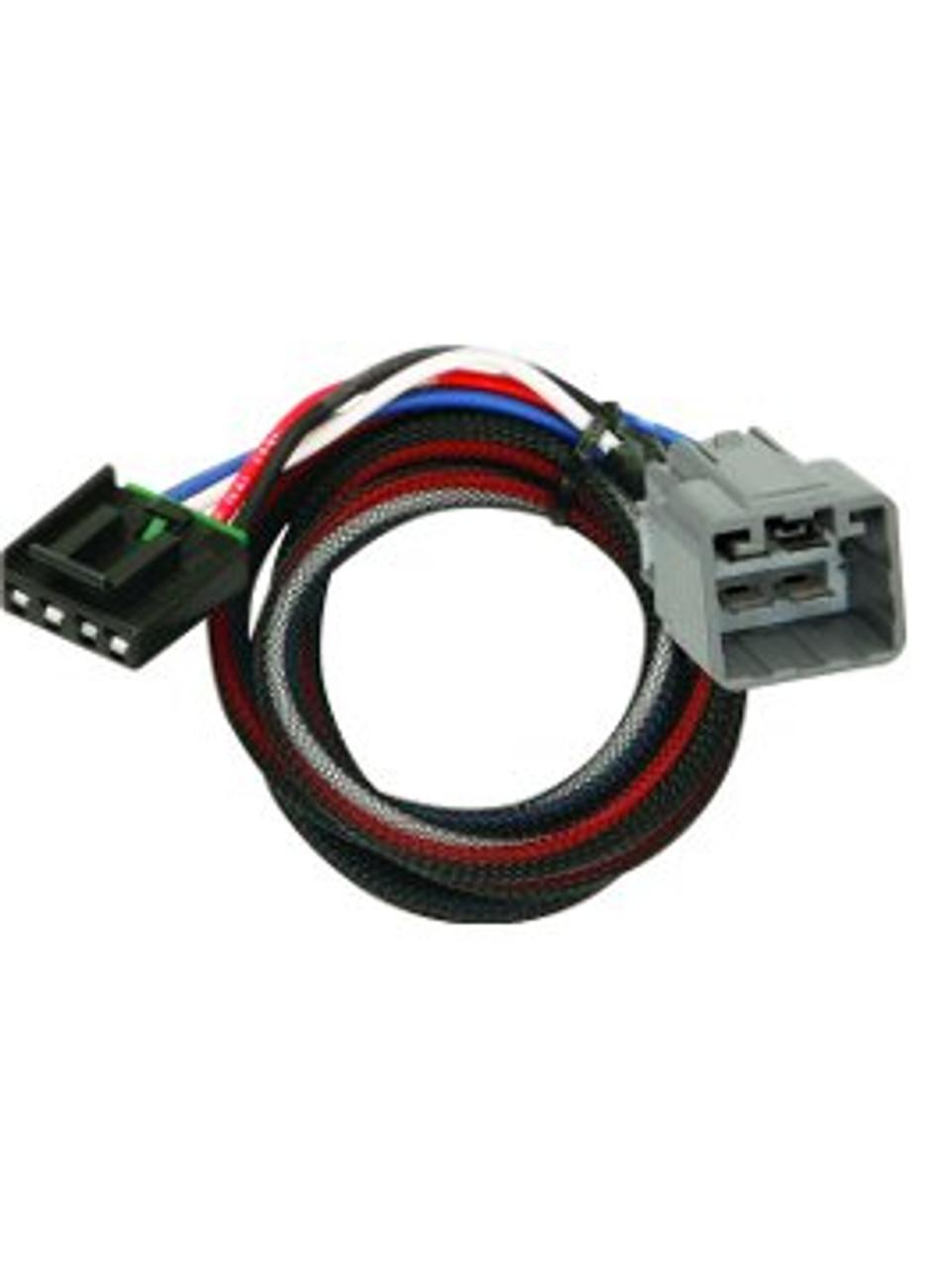 3021 --- Tekonsha & Draw-Tite Brake Control Dual Plug Wiring Harness
