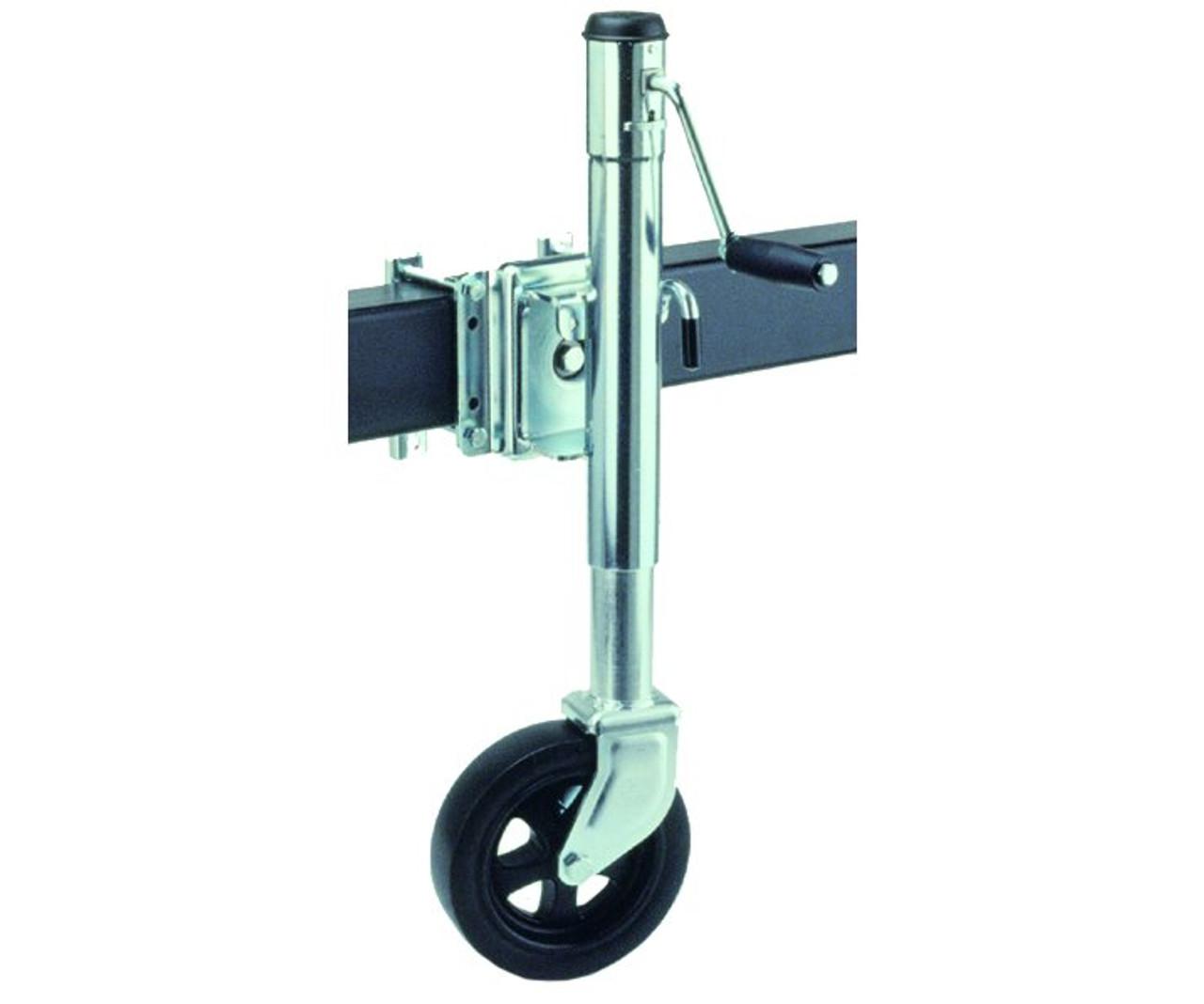 TJ1500 --- FULTON Swivel Sidewind Trailer Jack with Caster - 1,500 lb