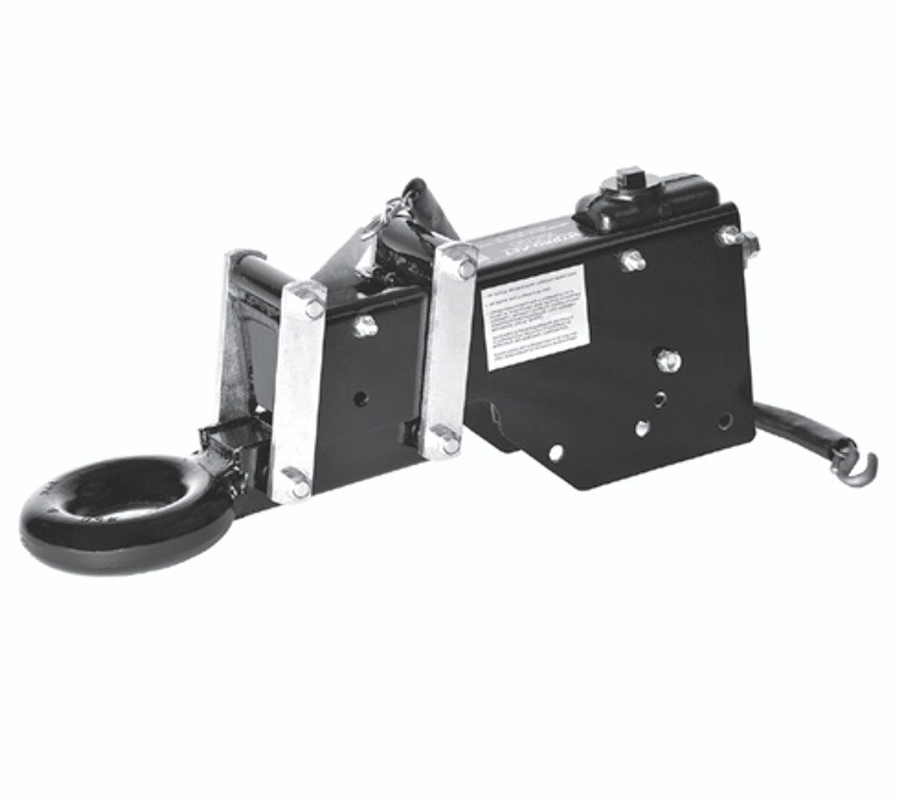 "TA6S-3R --- Hydro-Act Hydraulic Brake Actuator with 3"" Tow Ring - 6,000 lb Capacity"