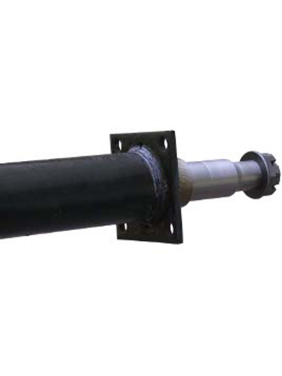 "RT3561-84FC --- 2-3/8"" Cambered Round Dexter Straight Axles  - 3,500 lb Capacity - 61"" Hub Face"