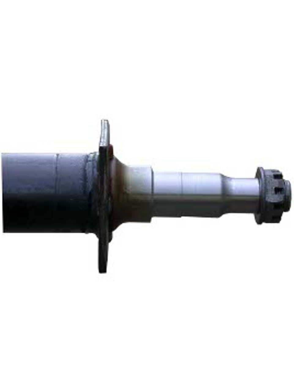 """RT3575-84FC --- 2-3/8"""" Cambered Round Dexter Straight Axles  - 3,500 lb Capacity - 75"""" Hub Face"""
