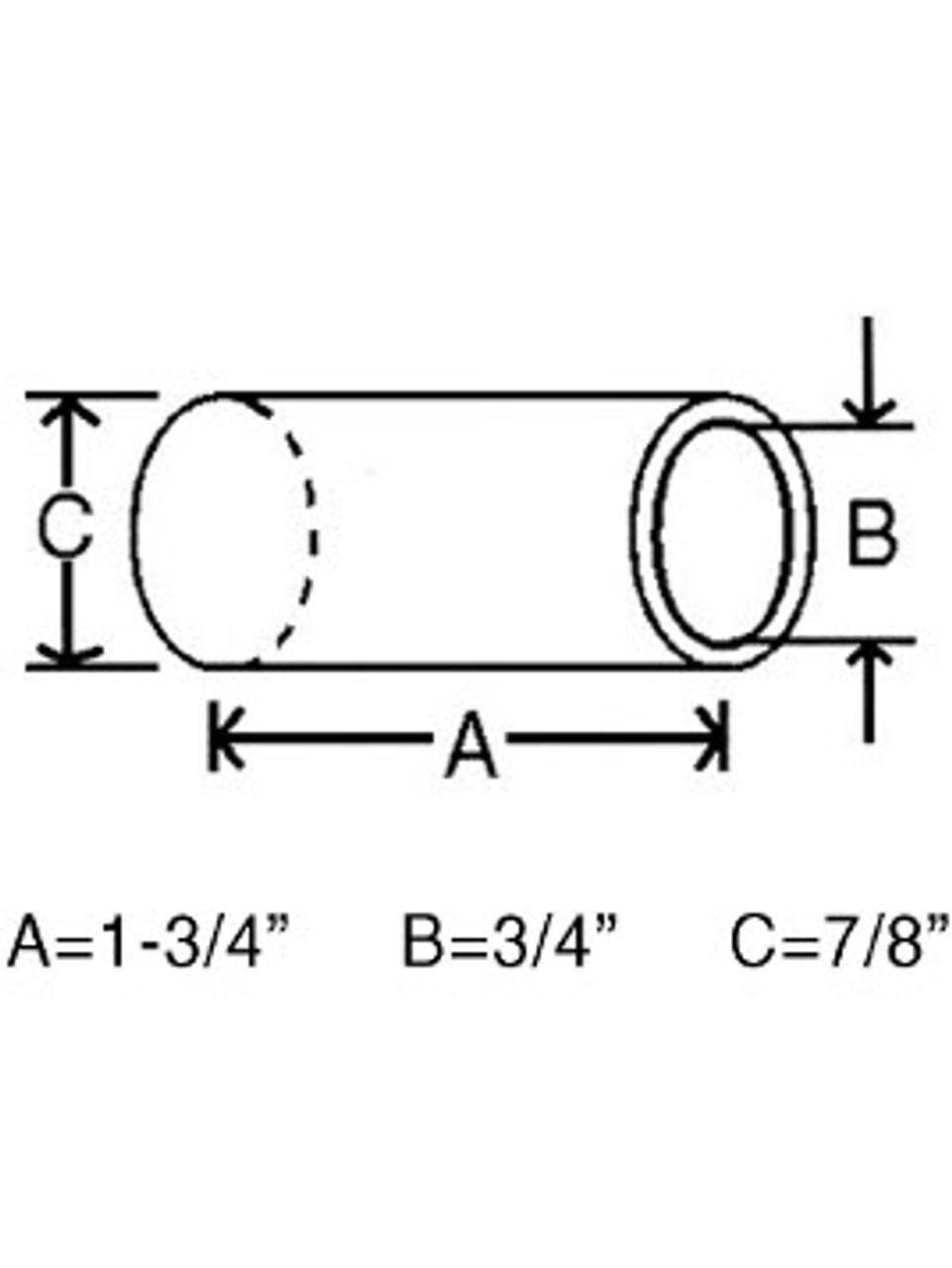 NB78 --- Center Equalizer Bushing - Nylon