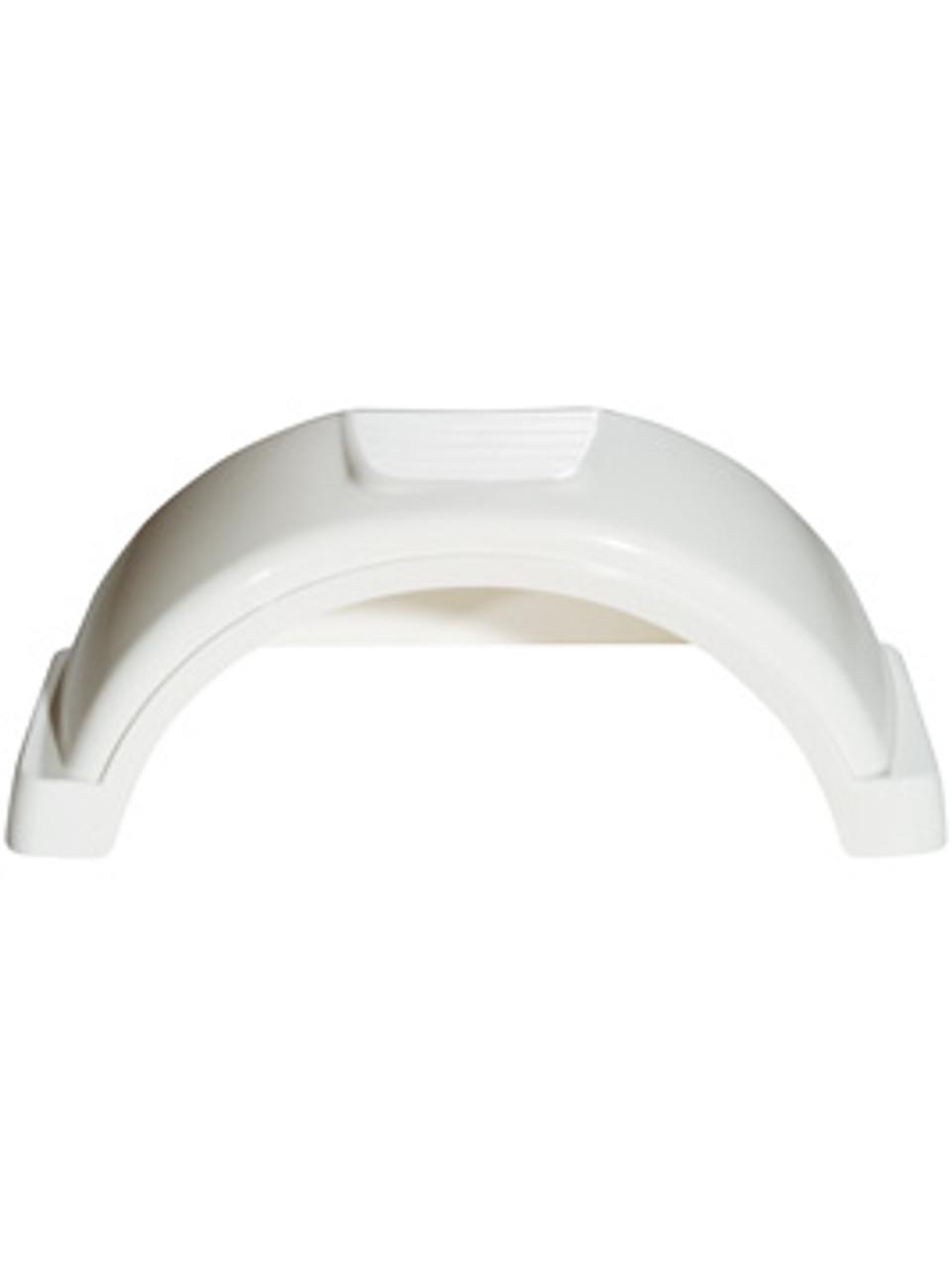 "PF8543 --- Fulton Plastic Fender - 13"" Tire Size - White"