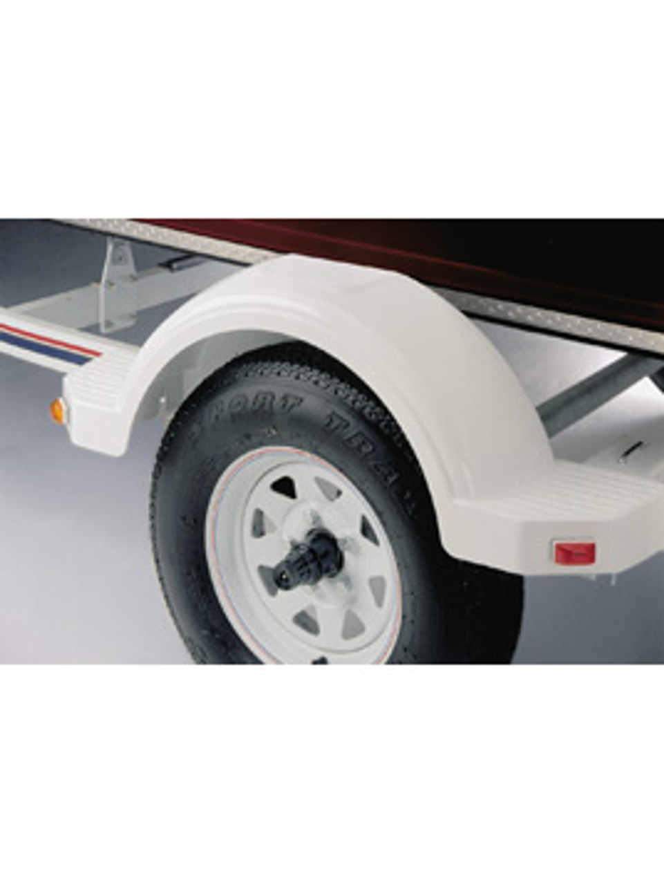 "PF8585 --- Fulton Plastic Fender - 15"" Tire Size - Black"
