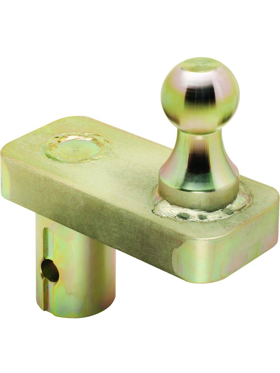 "19308 --- 2-5/16"" Replacement BULLDOG Gooseneck Hitch Ball with 5"" offset, 30,000 lb Capacity, Zinc Finish"