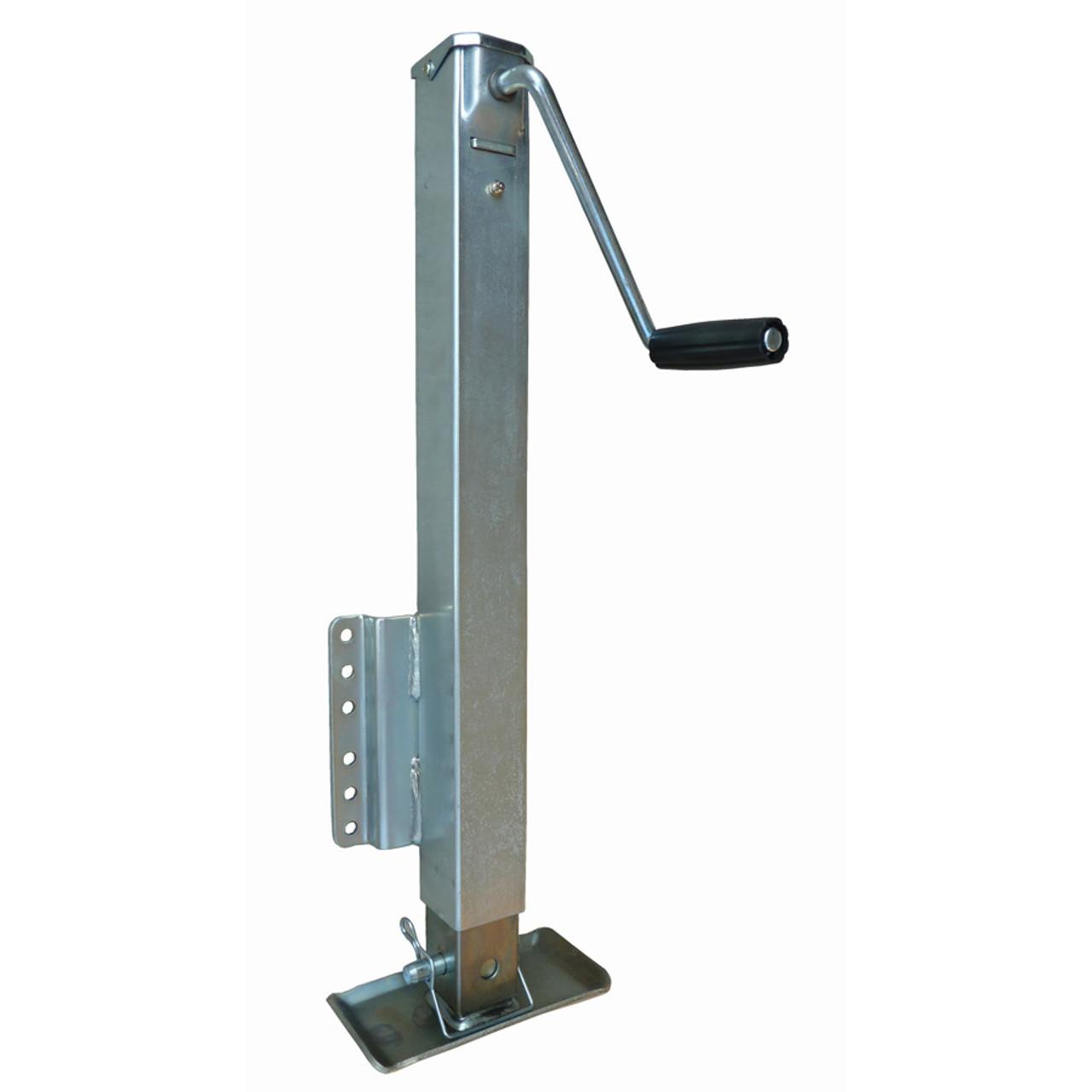 RAM2500 --- RAM Fixed Mount Drop Leg Jack with Footplate - 2,500 lb