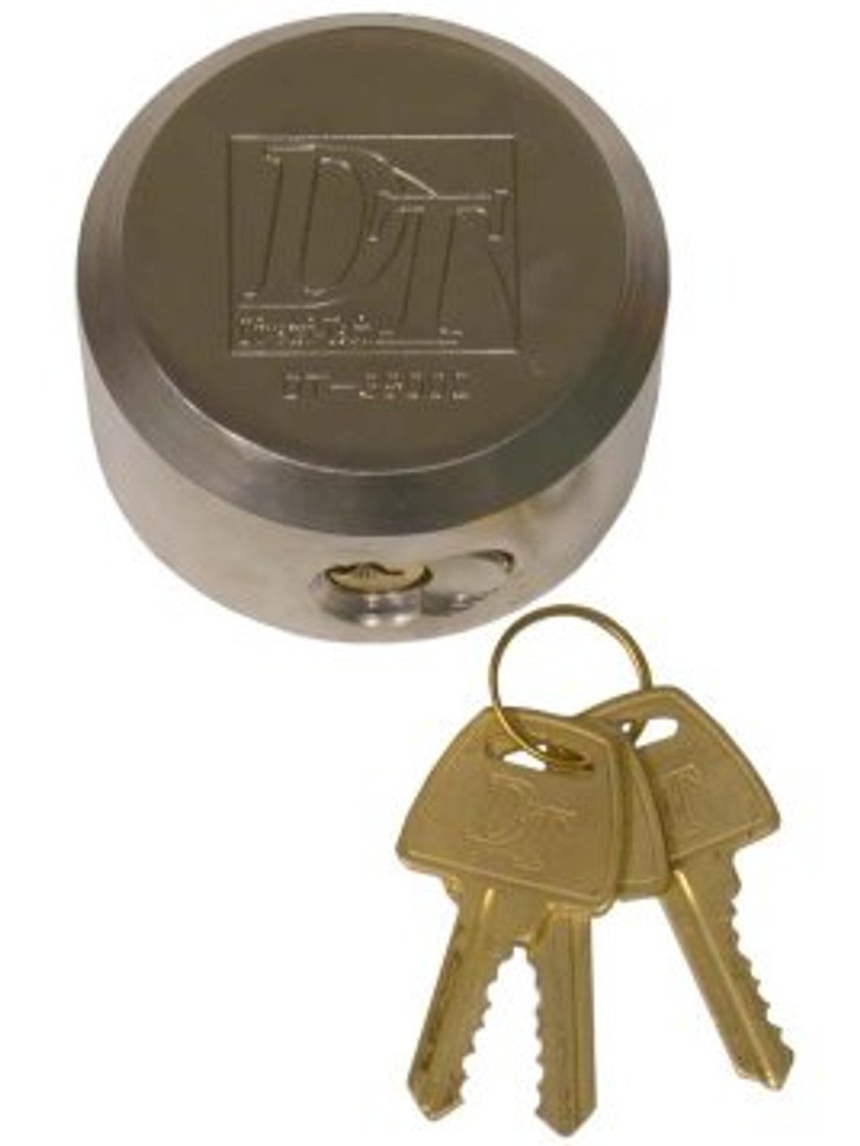 HL100SS-3PK --- Trailer Hasp Lock - 3 Pack Keyed Alike