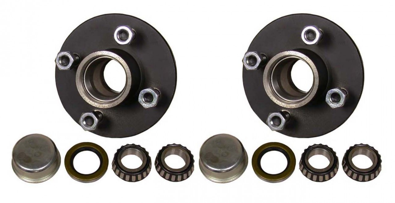 "BT4-43 --- 4 on 4"" Hub Assembly - Pair"
