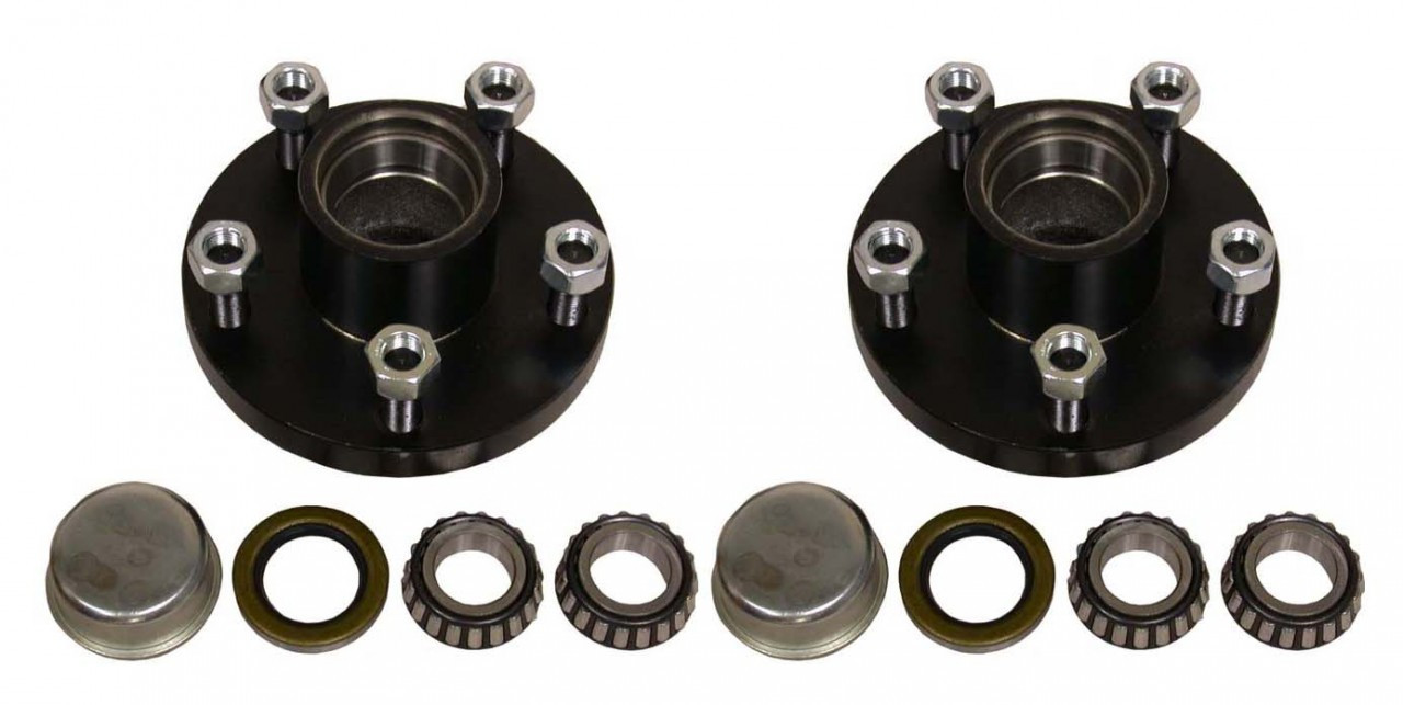 "BT5-49 --- 5 on 4-1/2"" Hub Assembly - Pair - 2,000 lb"