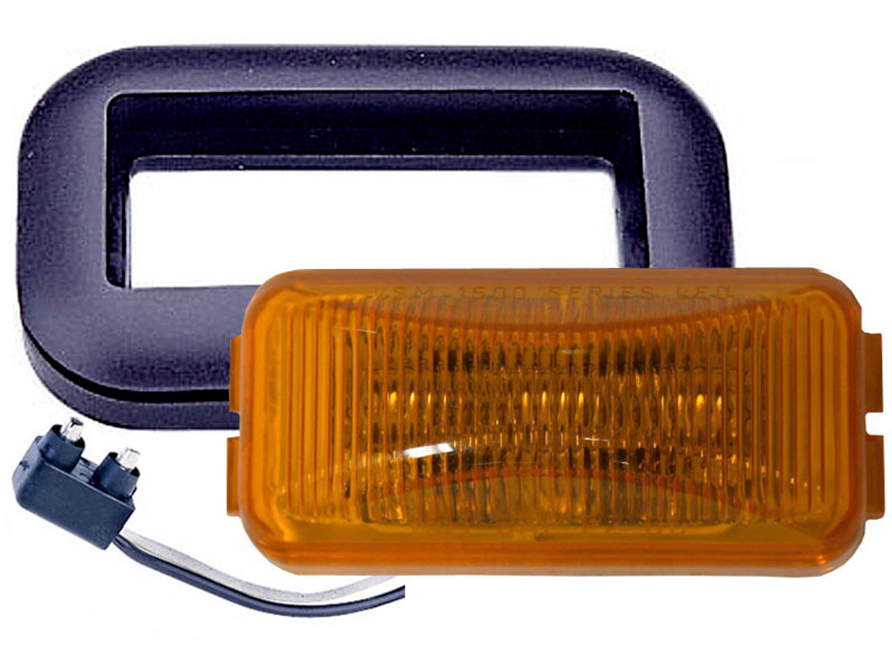 LED153KA2-G --- Rectangular Sealed LED Clearance/Side Marker Light Kit- 2 Diodes