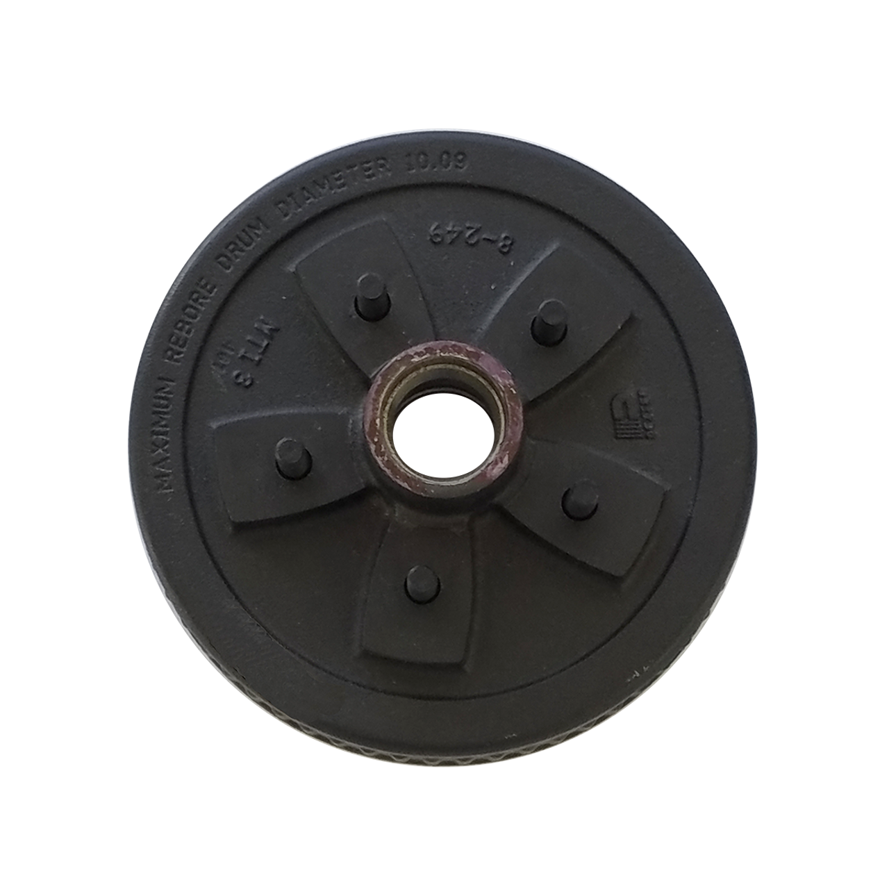 """HD-550 --- 5 on 5"""" Hub and Drum Assembly for 10"""" Brakes"""