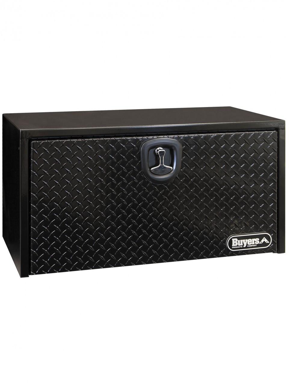 "UTBS24-BTP --- Underbody Tool Box w/Diamond Tread Door -  Steel 18""x18""x24"""