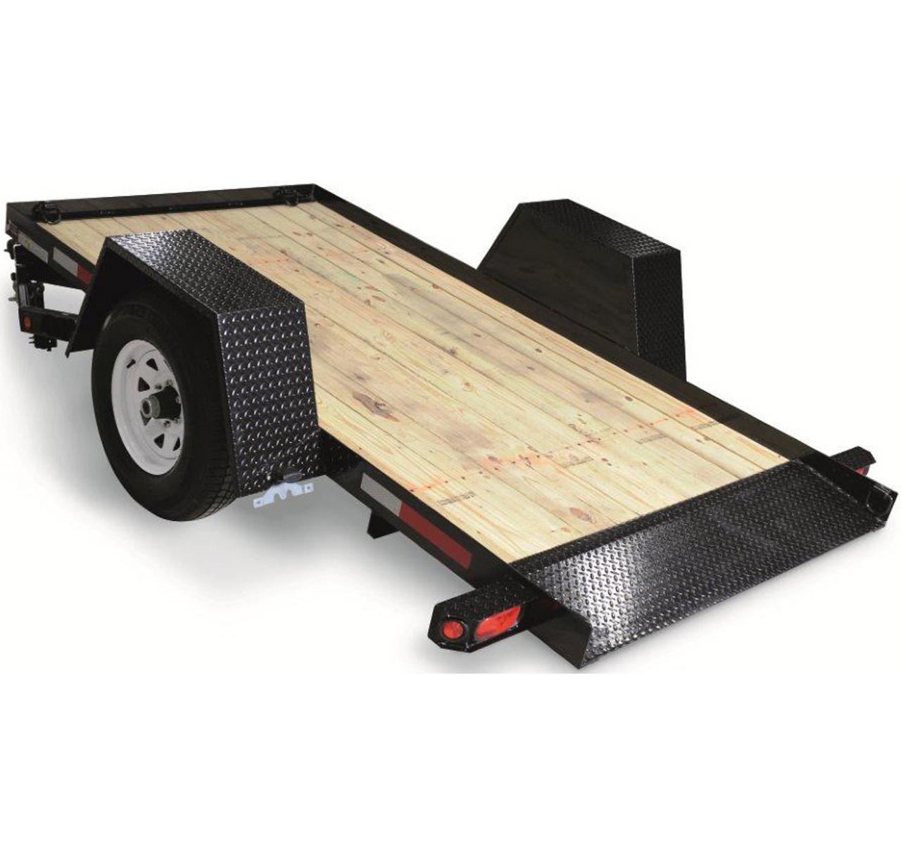 CT5010TSA4EL --- 5' x 10' Pan Tilt-Bed with Electric Brakes