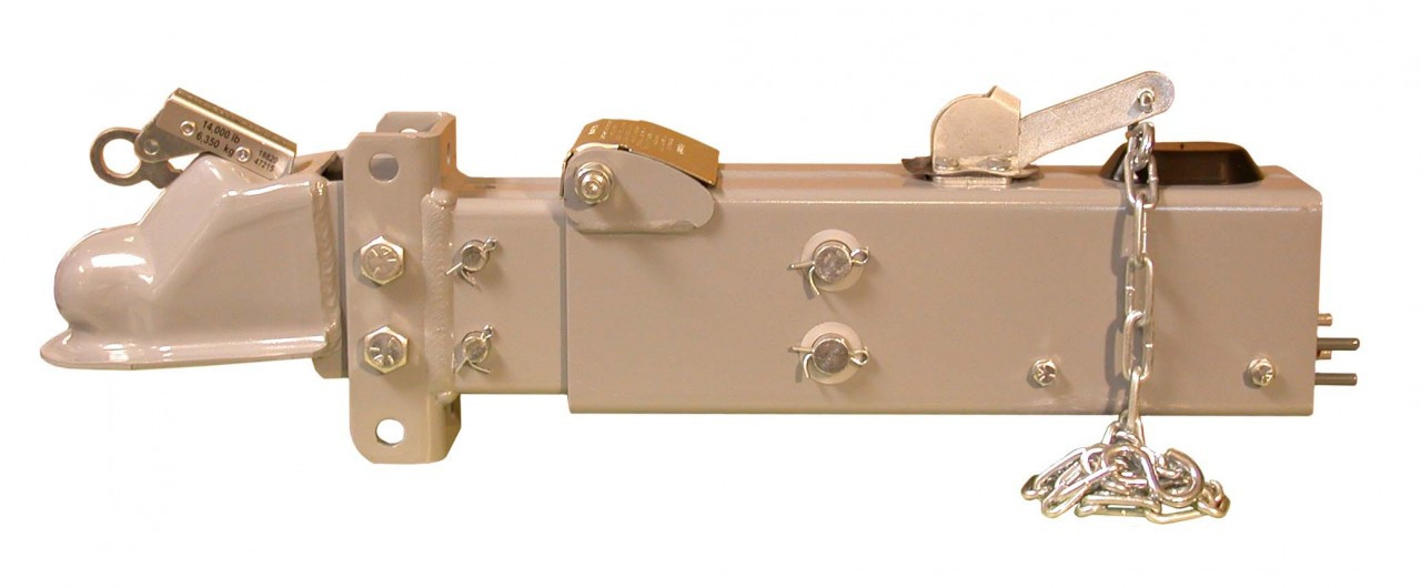 """18909 --- Model 10 Brake Actuator with Channel & Adjustable 2-5/16"""" Coupler - 12,500 lb Capacity"""